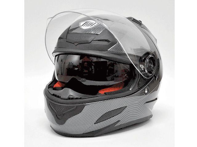 送料無料 THH ティーエイチエイチ フルフェイスヘルメット TS-43 フルフェイスヘルメット(シルバーカーボンプリント) M