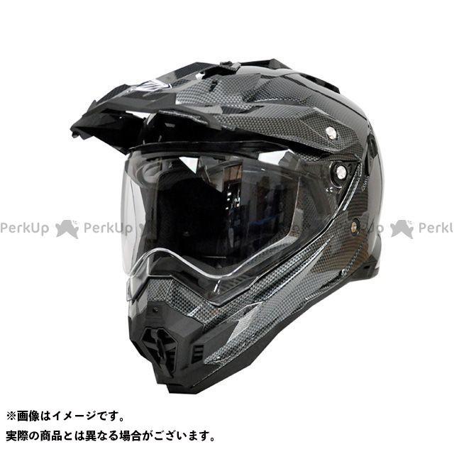 THH ティーエイチエイチ TX-27 オフロードヘルメット(シルバーカーボンプリント) XL