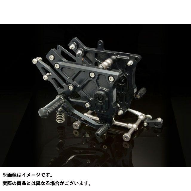 Kファクトリー ニンジャ900 ライディングステップ(スーパーブラック) ケイファクトリー
