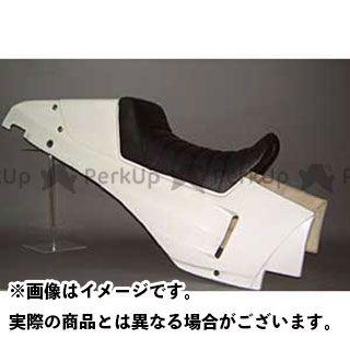 エーテック GPZ750R ニンジャ900 シングルシートカウル 本体のみ(FRP/白)