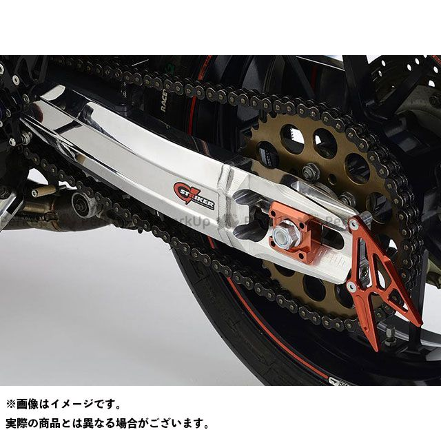 ストライカー ニンジャ900 G-STRIKER スイングアーム ZRX1200ホイール(アクスル径φ20)用 セラコートBK ブラック STRIKER