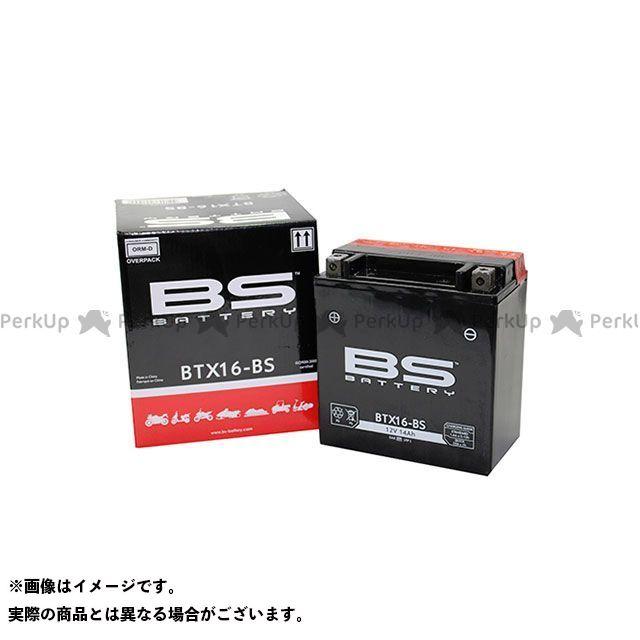 【無料雑誌付き】BSバッテリー 汎用 BTX16-BS(FTH16-BS互換) 液別 BS BATTERY