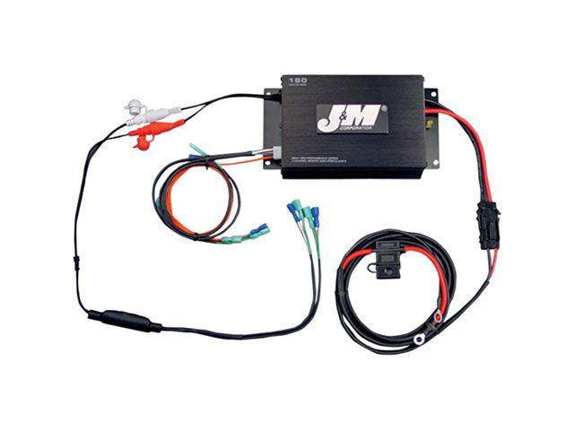 J&M FLHT エレクトラグライド FLHX ストリートグライド FLTR ロードグライド その他電装パーツ ROKKER シリーズ 360w 4chアンプキット