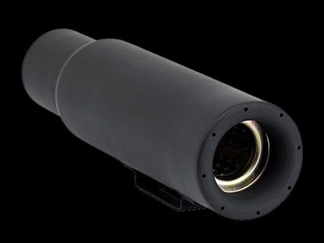 送料無料 ビルトウェル ハーレー汎用 マフラー本体 ミニスリップオンマフラー Cannon ブラック