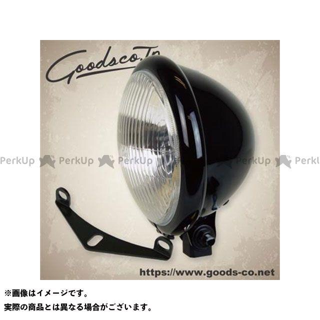 """グッズ CB400SS GB250クラブマン ヘッドライト・バルブ 5-3/4""""ベイツライトキット/CB400SS/GB250 ブラック"""