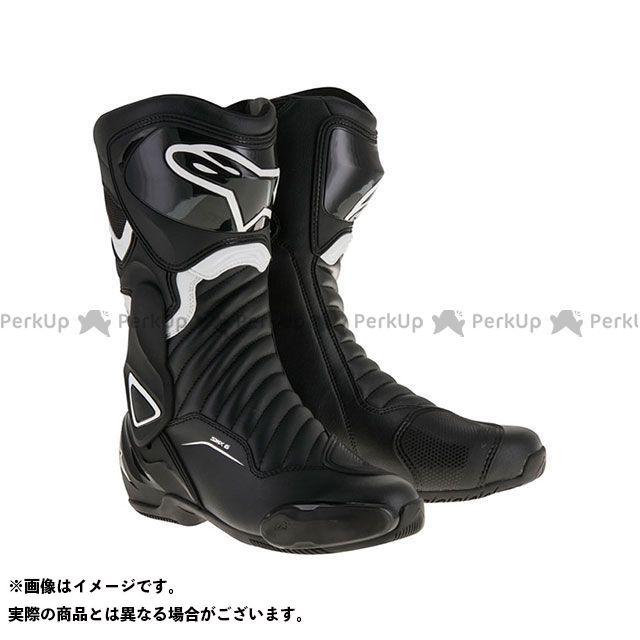 送料無料 Alpinestars アルパインスターズ レーシングブーツ SMX6 ブーツ(ブラック/ホワイト) 45