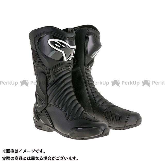 【エントリーで更にP5倍】Alpinestars SMX6 ブーツ(ブラック/ブラック) サイズ:44 アルパインスターズ