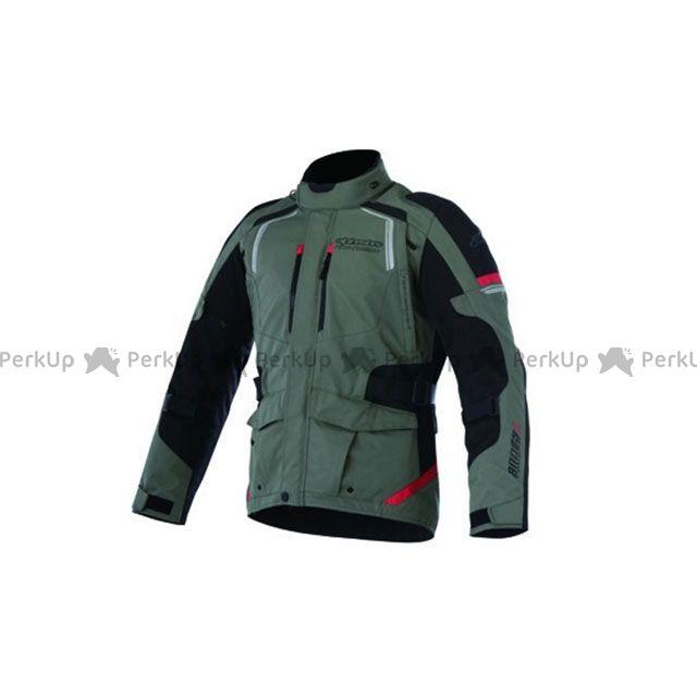 送料無料 Alpinestars アルパインスターズ ジャケット アンデス 2 ドライスター ジャケット(ミリタリーグリーン/ブラック/レッド) S