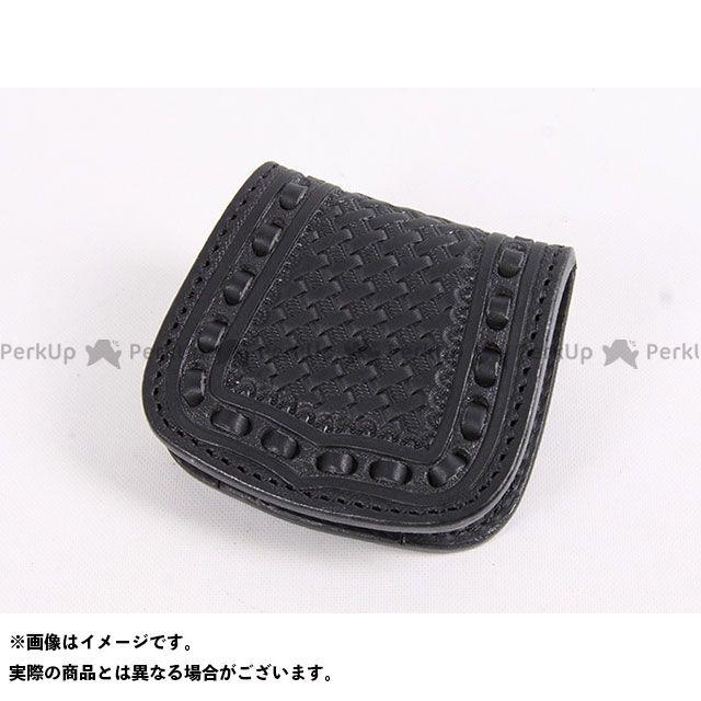 送料無料 DEGNER デグナー 財布 W-89 カービングレザーコインケース(ブラック)