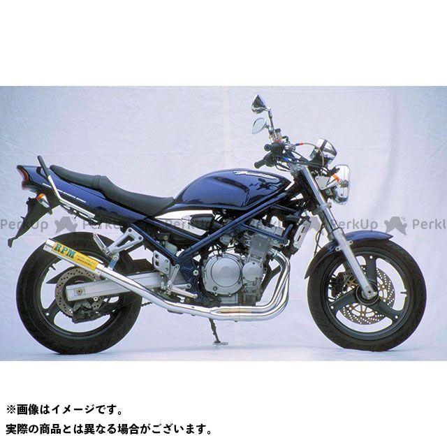 【無料雑誌付き】RPM バンディット400 RPM-67Racing フルエキゾーストマフラー サイレンサーカバー:チタン アールピーエム