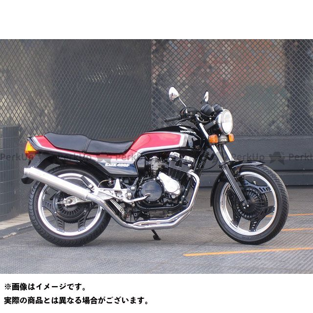 【エントリーで最大P21倍】RPM CBX400F RPM-NEW4in2in1 フルエキゾーストマフラー アールピーエム
