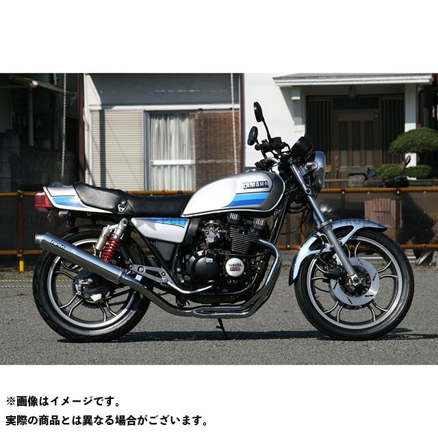 RPM XJ400D RPM-NEW4in2in1 フルエキゾーストマフラー アールピーエム