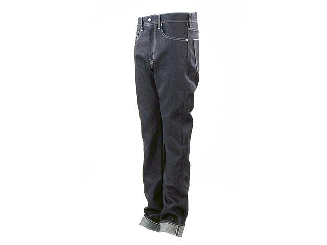 送料無料 OVERTECH オーバーテック パンツ OT-D06 WoolDenim17oz5P OW Re/F(黒) XL