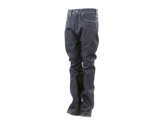 送料無料 OVERTECH オーバーテック パンツ OT-D07 WoolDenim17oz5P OW B/F(黒) XL