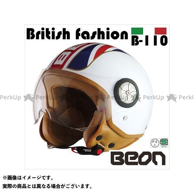送料無料 Beon HELMETS ベオンヘルメット ジェットヘルメット スモールジェットヘルメット B110 British Fasion M