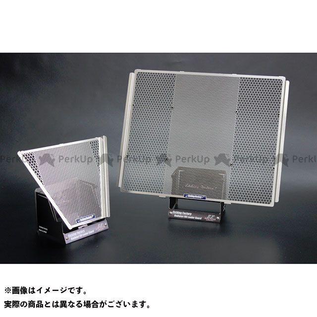 送料無料 エッチングファクトリー GSX-R1000 オイルクーラー関連パーツ GSX-R1000/R(17~)用 ラジエター&オイルクーラーガードSET 赤エンブレム