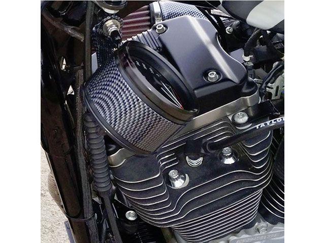 DKカスタム DK Custom メーターステー類 カーボンルック スピードメーター 移設キット