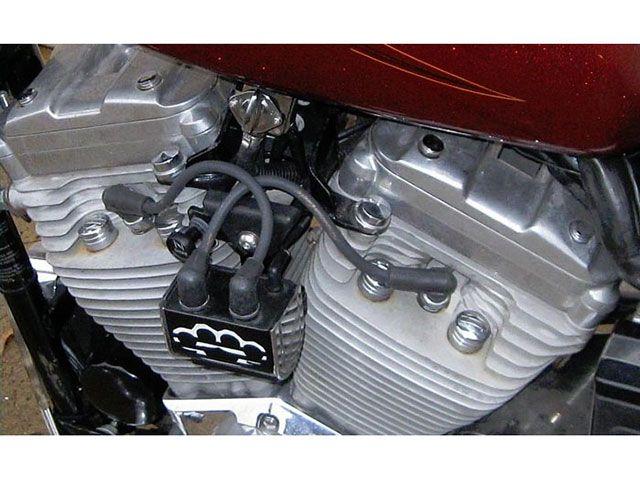 DKカスタム DK Custom 電装スイッチ・ケーブル イグニッション・コイル移設キット 95~03スポーツスター用