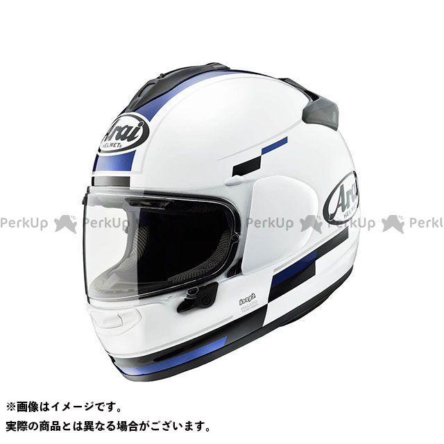 アライ ヘルメット Arai フルフェイスヘルメット 【東単オリジナル】 VECTOR-X BLAZE(ベクターX・ブレイズ) ホワイト/ブルー 54cm