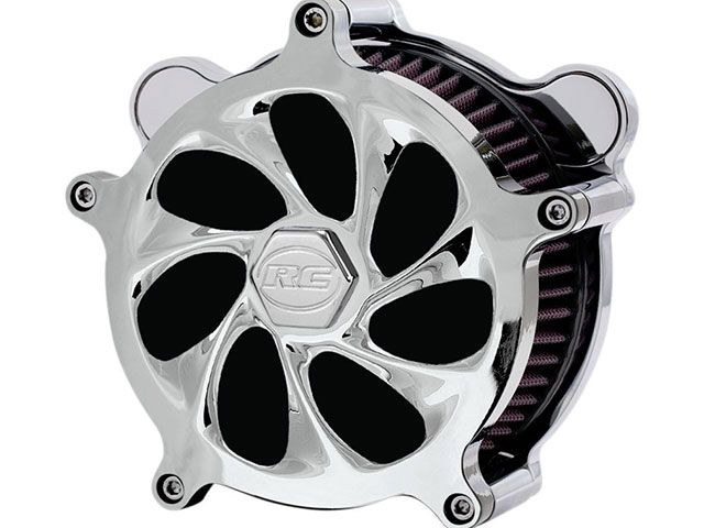 RCコンポーネンツ RCcomponents エアクリーナー RC Components エアストライク エアクリーナー Drifter Chrome