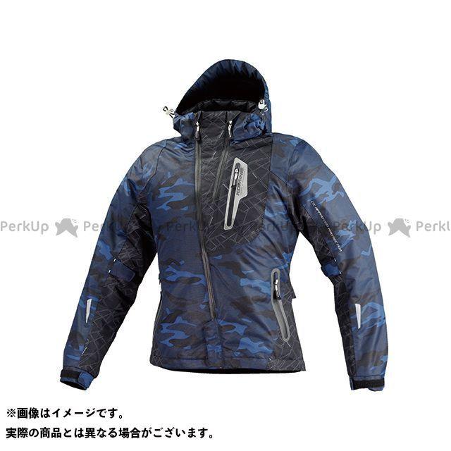 コミネ JK-589 プロテクトウインターパーカ(ブルーカモ) M メーカー在庫あり KOMINE