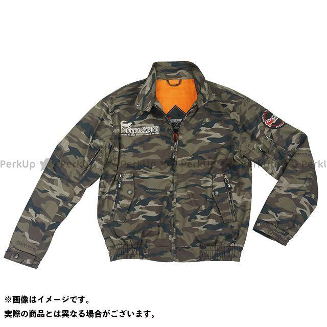 モトファンゴ JK-591 プロテクトスイングトップジャケット(カモフラージュ) L メーカー在庫あり MOTOFANGO