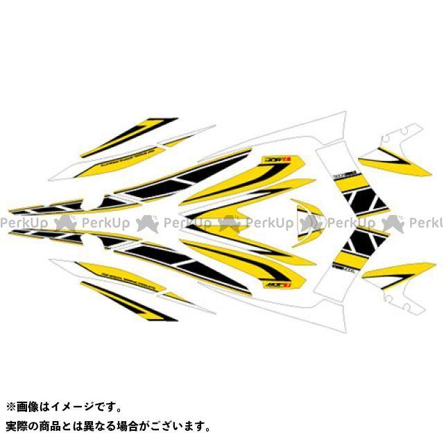 MDF マジェスティS マジェスティS(13-17) グラフィックキット ストロボモデル パンプキンイエロータイプ タイプ:コンプリートセット エムディーエフ