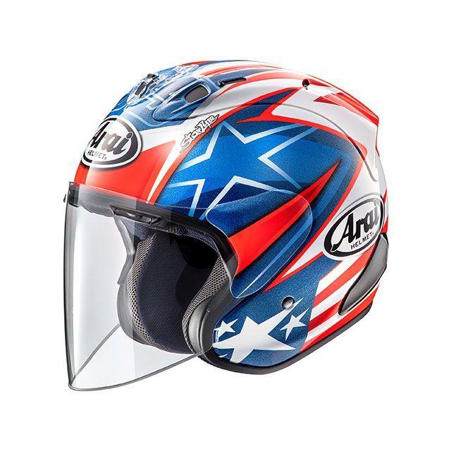 送料無料 アライ ヘルメット Arai ジェットヘルメット SZ-Ram4X HAYDEN SB(SZ-ラム4X・ヘイデンSB) 54cm