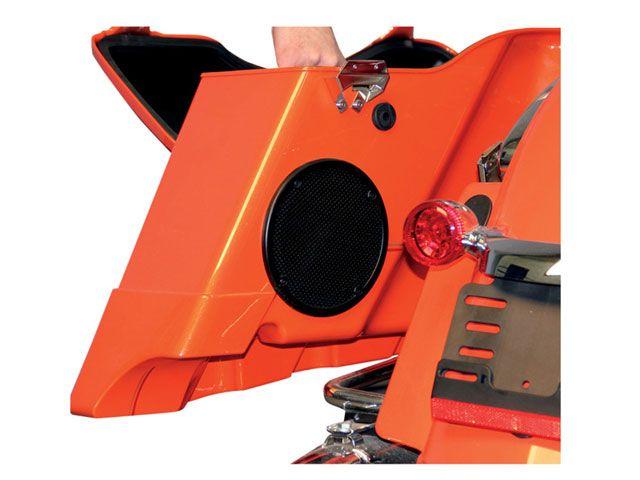 J&M FLHT エレクトラグライド FLHX ストリートグライド FLTR ロードグライド その他電装パーツ ROKKER シリーズ サドルバッグ サブウーファー スピーカーキット