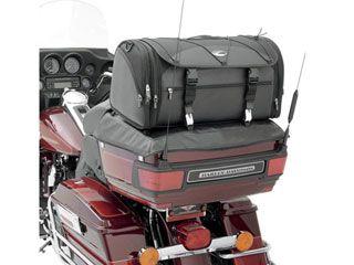 送料無料 サドルマン ハーレー汎用 ツーリング用バッグ TR3300DE デラックス・ラックバック