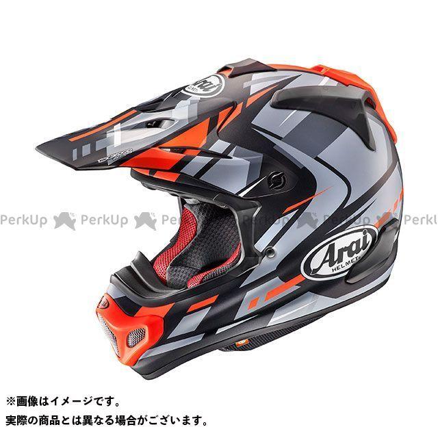 送料無料 アライ ヘルメット Arai オフロードヘルメット V-CROSS 4 BOGLE(V-クロス4・ボーグル) レッド 61-62cm