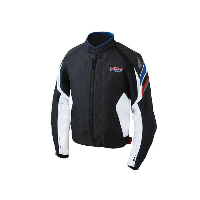 送料無料 Honda ホンダ ジャケット HRC 2017-2018秋冬モデル グレイスライダースジャケット(プラチナ) L