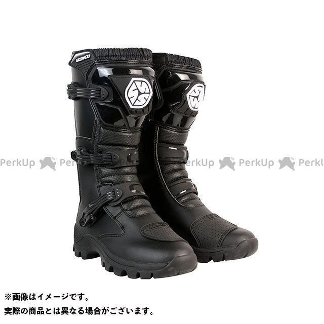 【エントリーで更にP5倍】スコイコ MBT012 オフロードトレッキングブーツ(ブラック) サイズ:45/29.0cm メーカー在庫あり SCOYCO