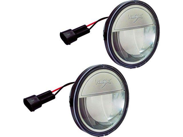 送料無料 シロ ハーレー汎用 ホーン・電飾・オーディオ LED パッシングランプ