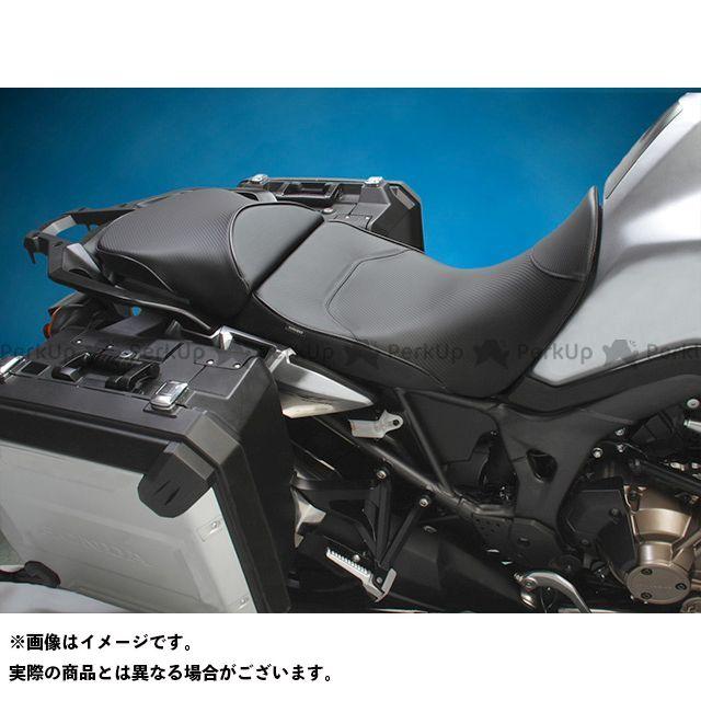 サージェント CRF1000Lアフリカツイン シート関連パーツ ワールドスポーツ パフォーマンスシート CarbonFX ローシート フロントのみ ブラック