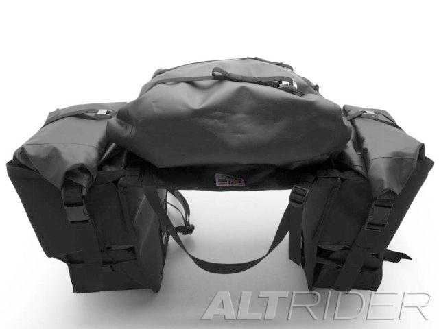 アルトライダー ALTRIDER ツーリング用バッグ ヘミスフィア ソフトパニア 左側排気車両用