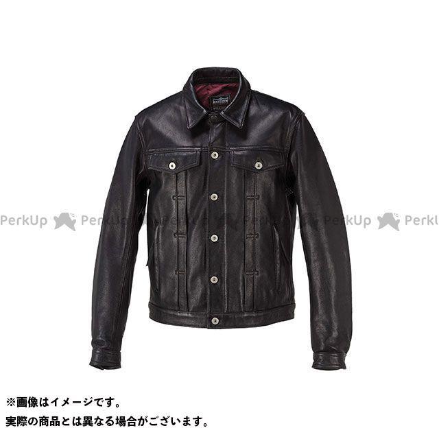 KADOYA カドヤ ジャケット K'S LEATHER No.1182 DT-LEATHER JAC(ブラック) L