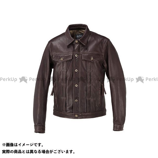KADOYA カドヤ ジャケット K'S LEATHER No.1182 DT-LEATHER JAC(ブラウン) M