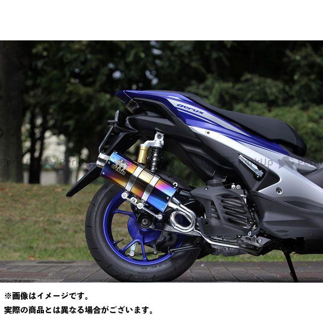 SP忠男 エアロX NVX 125 マフラー本体 PURE SPORT SilentVersion TitanBlue