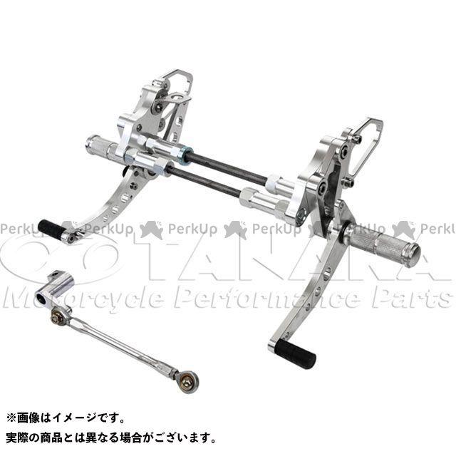 田中商会 ダックス 6Vダックス用 アルミ製バックステップキット ドラムブレーキ用 タナカショウカイ