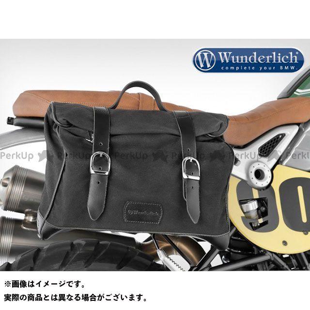 ワンダーリッヒ Wunderlich ツーリング用バッグ サイドバック「レトロ」 ブラック