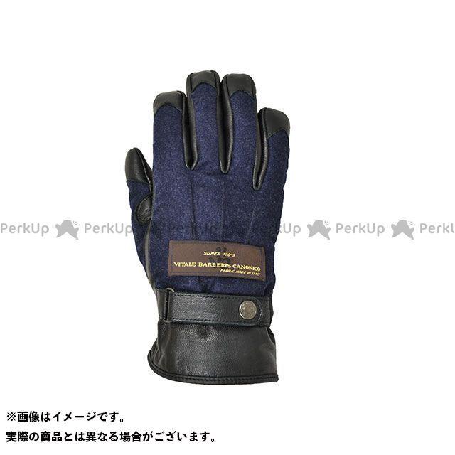 【エントリーで更にP5倍】Motor Samurai MSG-001 カノニコグローブ(ネイビー) サイズ:XL モーターサムライ