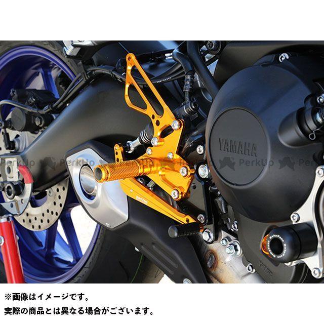 ベビーフェイス MT-09 バックステップキット カラー:ゴールド BABYFACE