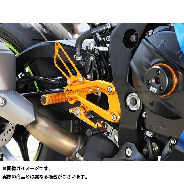 ベビーフェイス GSX-R1000 バックステップキット カラー:ブラック BABYFACE