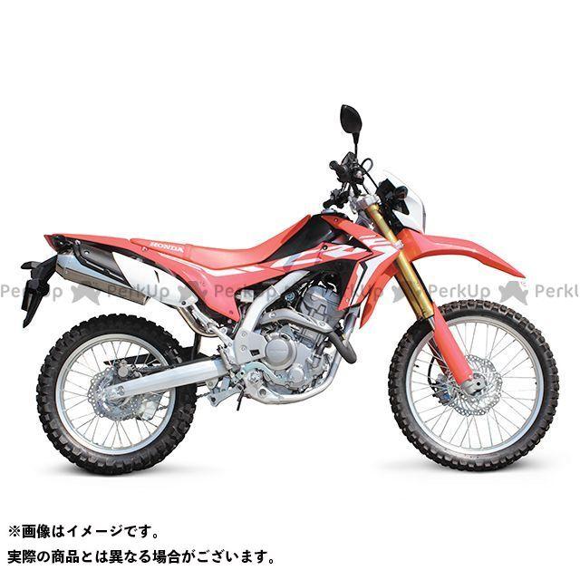 SP武川 CRF250L CRF250ラリー マフラー本体 コーンオーバルマフラー(スリップオン/政府認証)