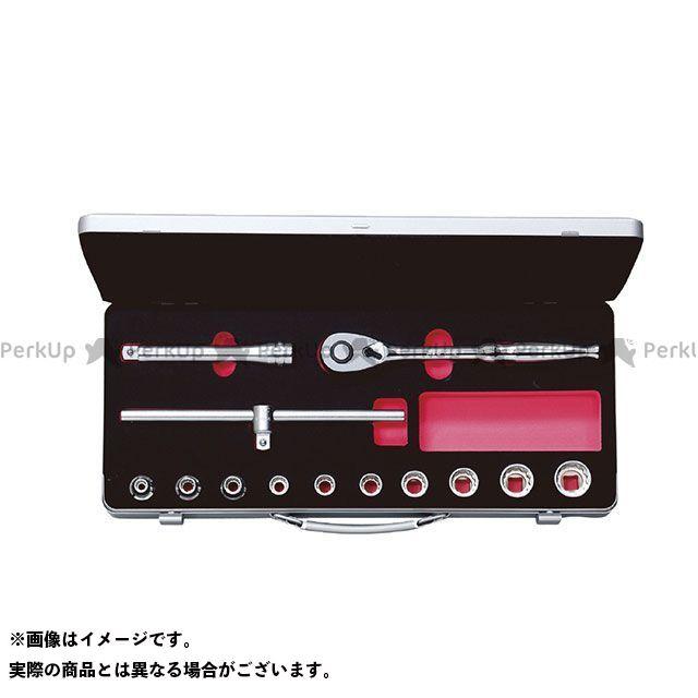 【無料雑誌付き】KTC TB410W(12.7SQ) ソケットレンチセット(ミリ) ケーティーシー