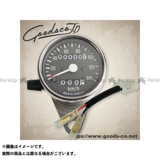 グッズ ドラッグスター400(DS4) サイドマウントメーターキット φ60 トリップ付き ブラックボディ DS400(~99) GOODS