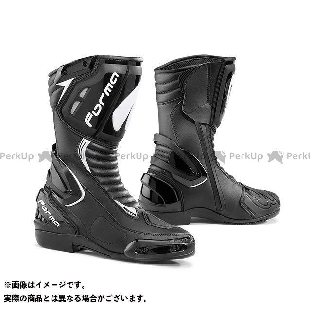 送料無料 FORMA フォーマ レーシングブーツ FRECCIA(ブラック) 41/26.0cm