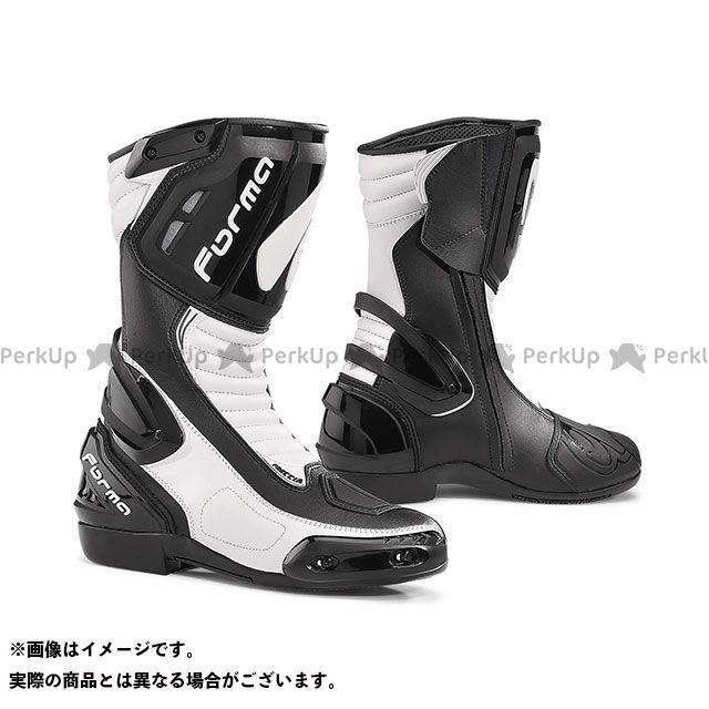 送料無料 FORMA フォーマ レーシングブーツ FRECCIA(ブラック/ホワイト) 45/28.0cm