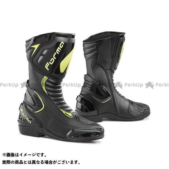 送料無料 FORMA フォーマ レーシングブーツ FRECCIA(ブラック/イエローフロー) 44/27.5cm